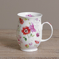 Dunoon Becher - FLORAL HARMONY Red - Suffolk