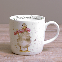 Wrendale Becher - CHRISTMAS CRACKER - Designs Enten