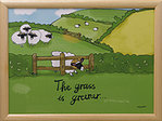Knietablett - LAP TRAY - The Grass is greener