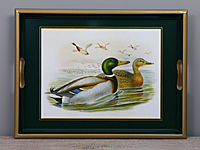 Tablett Lady Clare - GOULD DUCKS - Small Tray