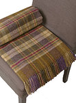 Wolldecke - GLEN COE Heather Check - Plaid