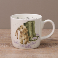 Wrendale Becher - THE BOXING DAY WALK - Designs Hund
