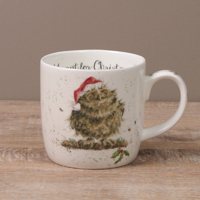 Wrendale Becher - OWL I WANT FOR CHRISTMAS - Designs Eulen