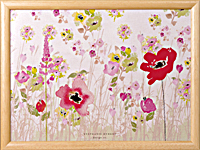 Knietablett - LAP TRAY - Poppies Red