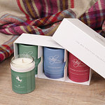 Duftkerzen Set - The Wee SCOTTISH Collection 1 - Skye Candles