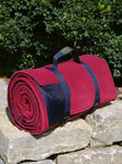 Picknickdecke Tweedmill RUG ROLL XXL - Wine Fleece