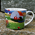 Tasse EWE ARE MY SUNSHINE - Schafmotiv aus Irland
