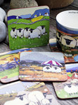 Untersetzer ASSORTED SHEEP - Coasters 6er-Set aus Irland