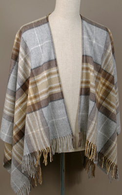 Poncho MINI - Lambswool - MC KELLAR - Bronte Tweeds