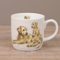 Wrendale Becher - DEVOTION - Designs Hund