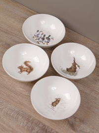 WRENDALE Bowl Set - Müslischalen 15,3 cm - 4 im Set