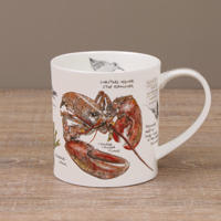 Dunoon Becher - SEASIDE NOTEBOOK Lobster - Orkney