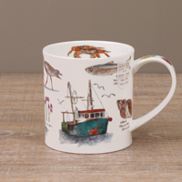Dunoon Becher - SEASIDE NOTEBOOK Fish Boat - Orkney