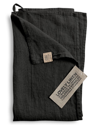 Geschirrtuch DARK GREY Lovely - Lovely Linen