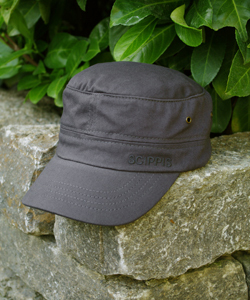 Cap - COLOMBO CAP Grey - Scippis Cotton