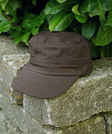 Cap - COLOMBO CAP Brown - Scippis Cotton