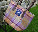 Tasche - Moon COUNTRY CHECK Tote Bag - Tweed Shopper