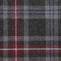 Tartanstoff - HEBRIDEAN HEATHER - Reine Schurwolle