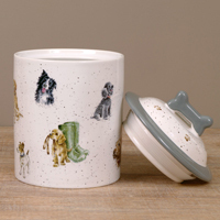 Wrendale Hundekeks Dose - DOG TREAT JAR - Designs Hunde