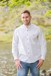Comfort Grandfather Shirt - WHITE - Lee Valley