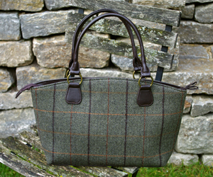 Tasche - Tweedmill HERRINGBONE Tote Bag - Tweed Shopper