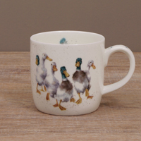 Wrendale Becher - QUACKERS - Designs Enten