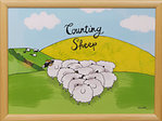 Knietablett - LAP TRAY - Counting Sheep