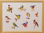 Knietablett - LAP TRAY - Mixed Birds