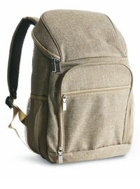 Kühlrucksack - CITY Beige - Picknick Backpack