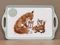 Wrendale FOX - Pimpernel Melamine Tray - Serviertablett