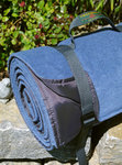 Picknickdecke Tweedmill RUG ROLL XXL - Denim Fleece