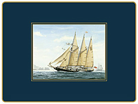 Tischsets Lady Clare - TALL SHIPS - Placemat 4er Set