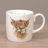 Wrendale Becher XL - THANK YOU SO MOOOCH - Designs Rind