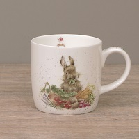 Wrendale Becher - GROW YOUR OWN - Designs Kaninchen