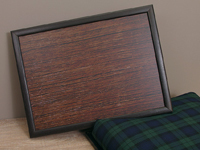 Knietablett - LAP TRAY - Black Watch Wood - Andrews