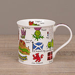 Dunoon Becher - SIMPLY SCOTLAND Flags - Bute