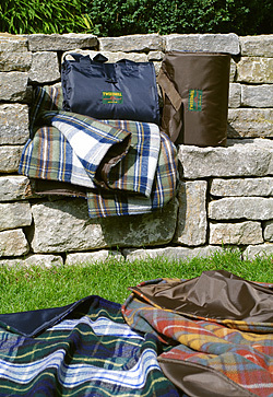 Picknickdecken Tweedmill - WATERPROOF PREMIUM - Wolle