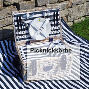 Picknickkörbe Country & British Tweed